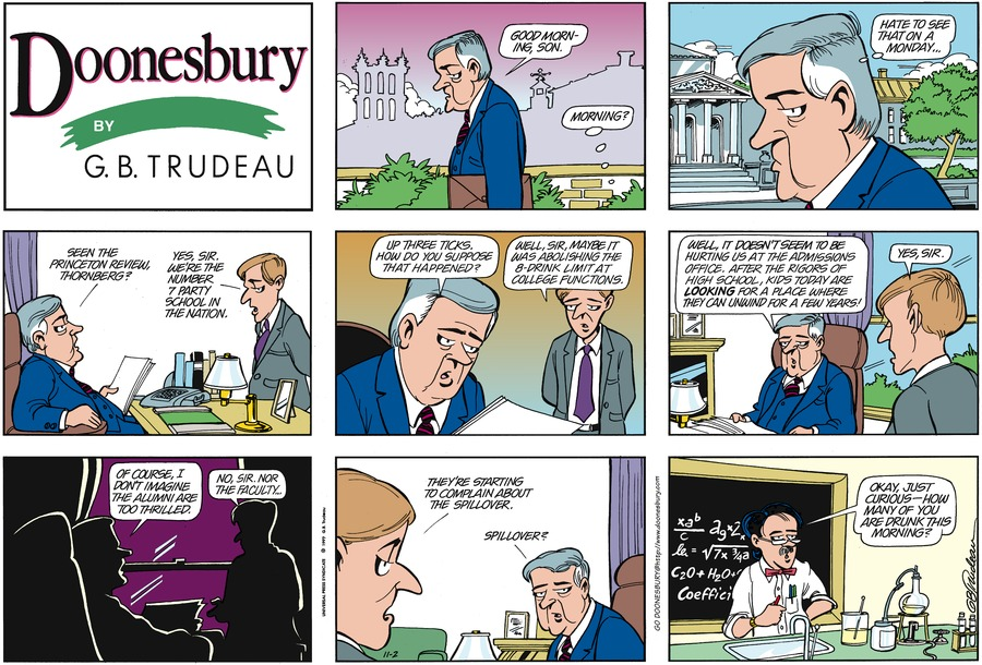 Doonesbury Comic Strip for November 02, 1997