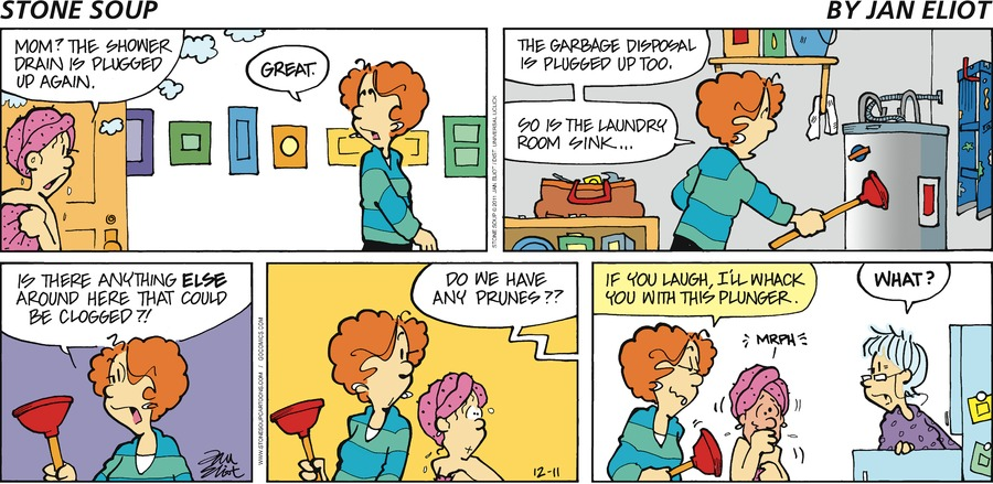 Stone Soup for Dec 11, 2011 Comic Strip