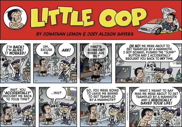 Alley Oop on Sunday March 1, 2020 Comic Strip