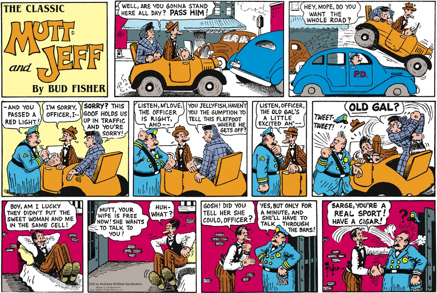 Mutt & Jeff Comic Strip for October 18, 2020