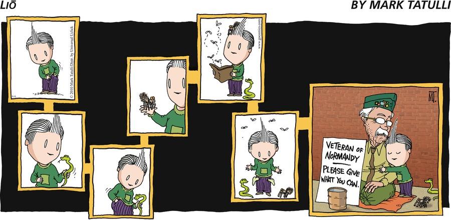 Lio Comic Strip for June 06, 2010