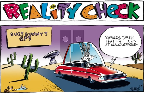 Reality Check on Sunday January 18, 2015 Comic Strip