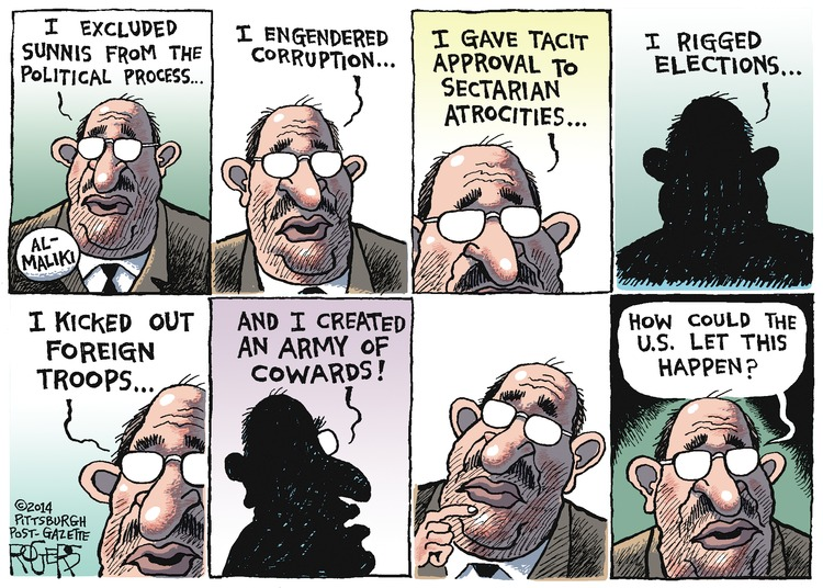 Rob Rogers Comic Strip for June 15, 2014