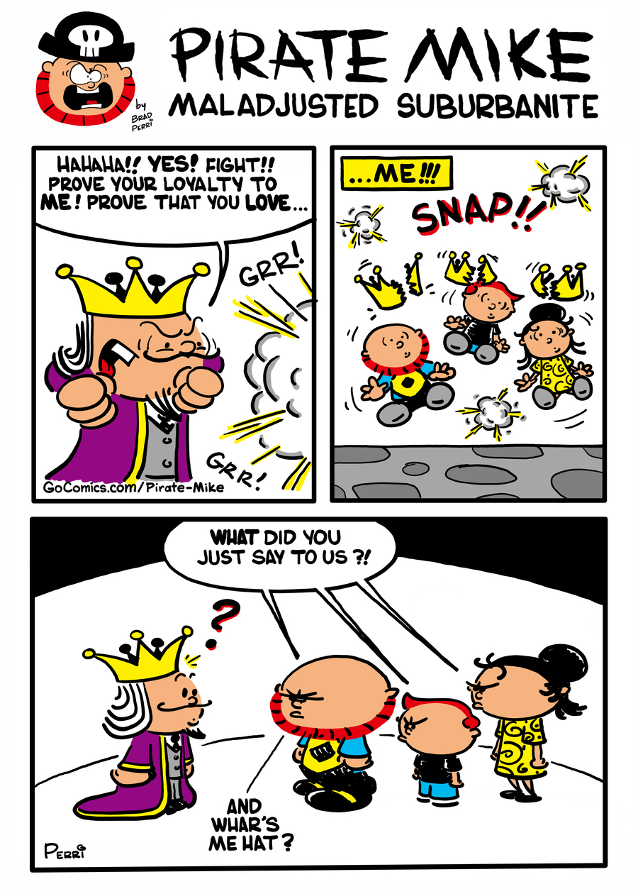 Pirate Mike Comic Strip for January 13, 2021