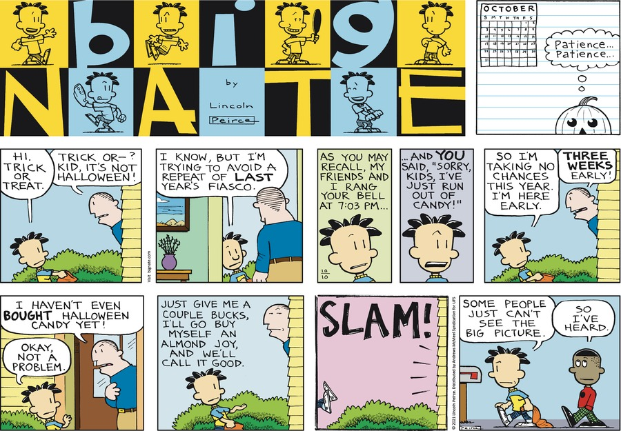Big Nate by Lincoln Peirce on Sun, 10 Oct 2021