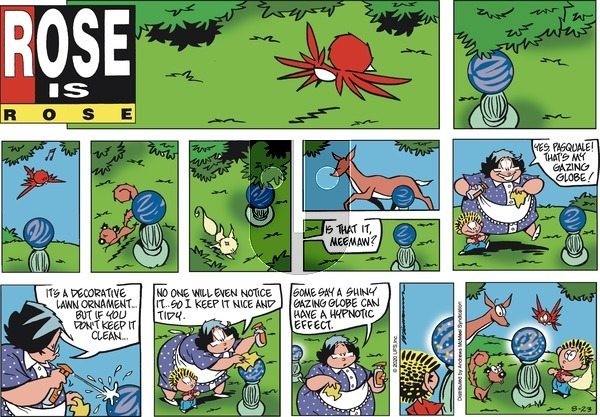Rose is Rose - Sunday August 23, 2020 Comic Strip