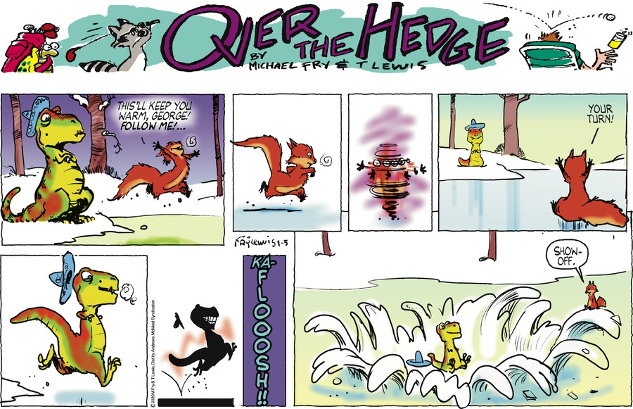 Over the Hedge Comic Strip for January 05, 2020