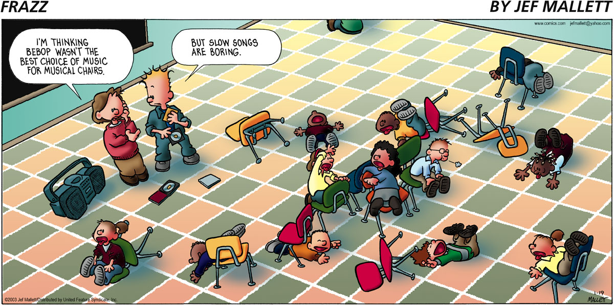 Frazz for Jan 19, 2003 Comic Strip