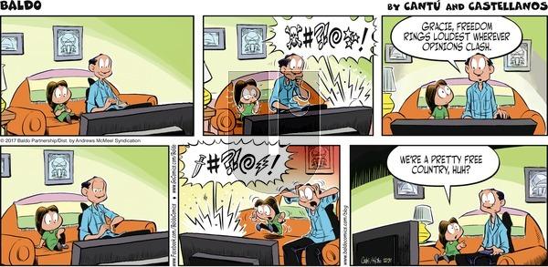 Baldo on Sunday December 31, 2017 Comic Strip