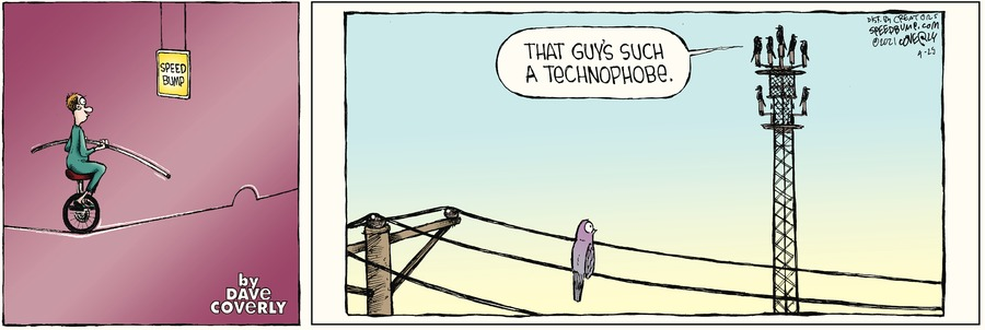 Speed Bump by Dave Coverly on Sun, 25 Apr 2021