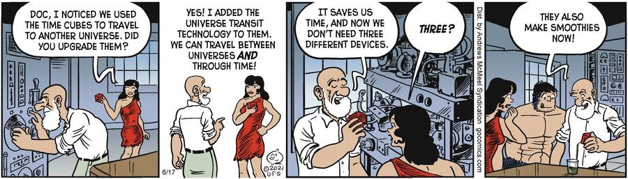 Alley Oop Comic Strip for June 17, 2021