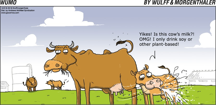 WuMo Comic Strip for December 02, 2018