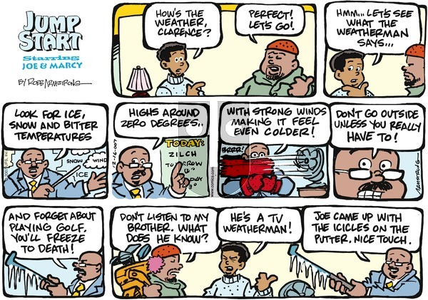 JumpStart on Sunday December 16, 2007 Comic Strip