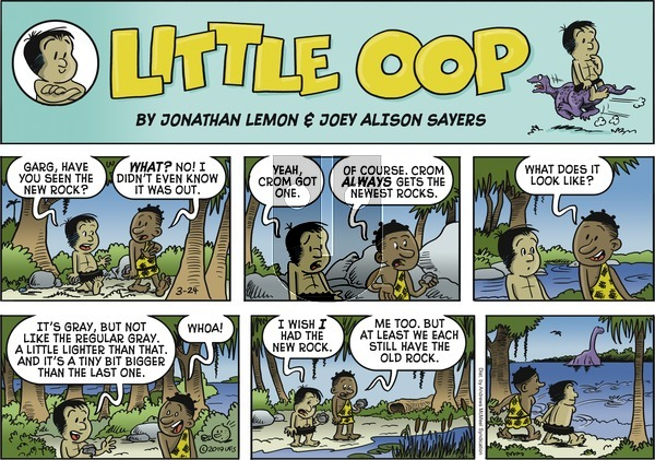 Alley Oop on Sunday March 24, 2019 Comic Strip