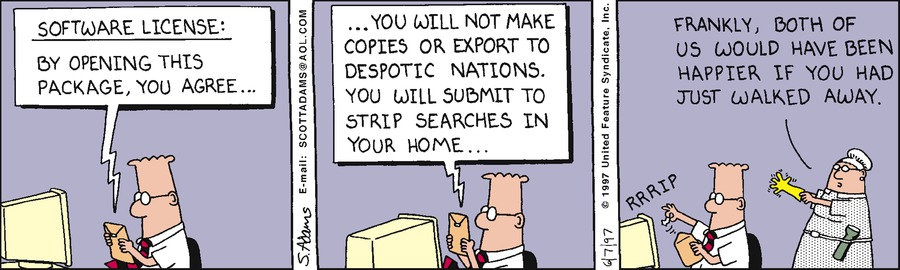 Dilbert Classics Comic Strip for May 09, 2021