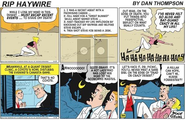 Rip Haywire on Sunday August 2, 2020 Comic Strip