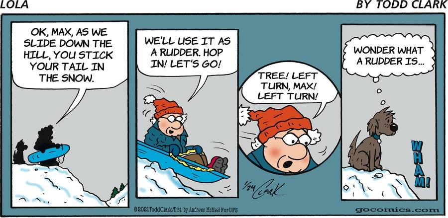 Lola Comic Strip for January 24, 2021