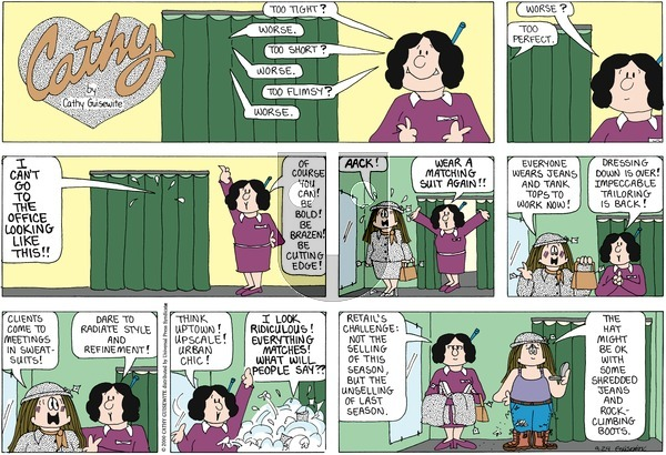 Cathy on Sunday September 25, 2011 Comic Strip