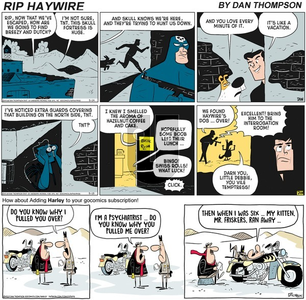 Rip Haywire on Sunday October 4, 2020 Comic Strip