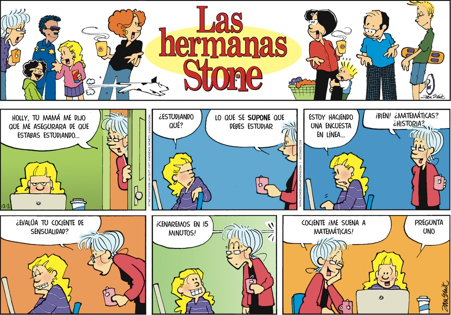 Las Hermanas Stone by Jan Eliot for December 02, 2018