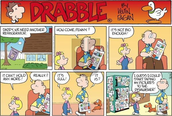 Drabble - Sunday June 7, 2020 Comic Strip
