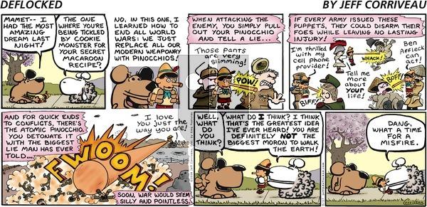 DeFlocked on Sunday August 17, 2008 Comic Strip