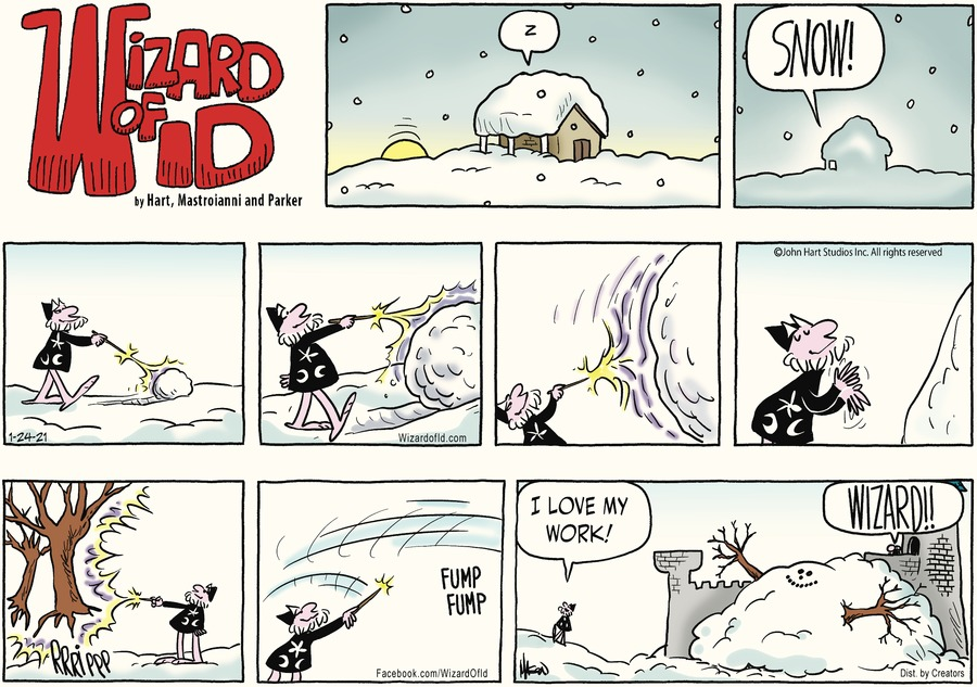 Wizard of Id Comic Strip for January 24, 2021