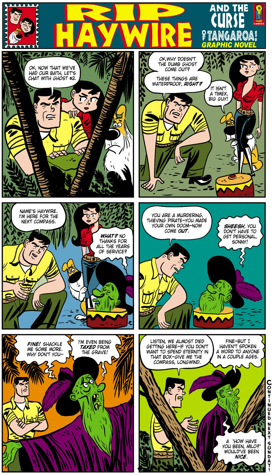 Rip Haywire Comic Strip for March 16, 2014
