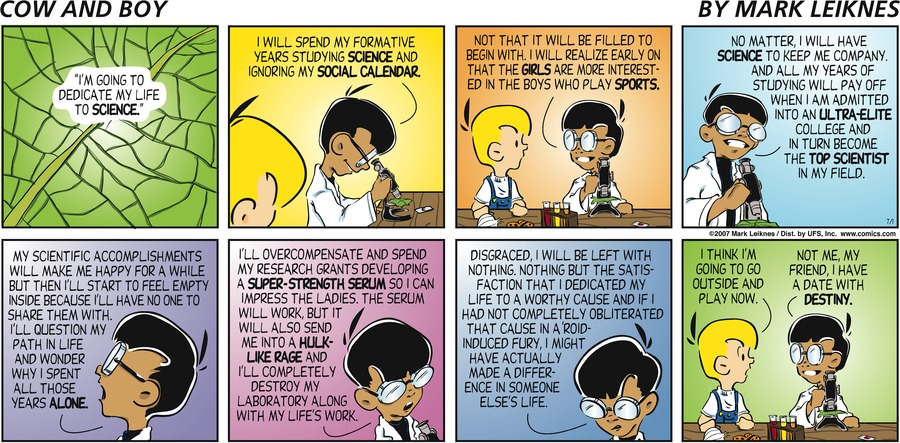 Cow and Boy Classics Comic Strip for September 15, 2021