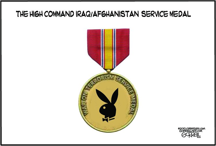 Bob Gorrell for Nov 13, 2012 Comic Strip