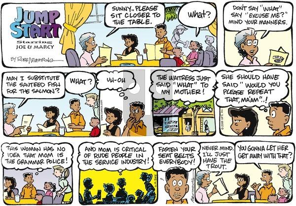 JumpStart on Sunday June 4, 2006 Comic Strip