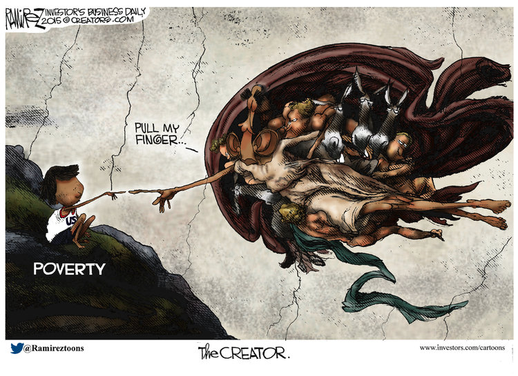 Michael Ramirez for May 19, 2015 Comic Strip