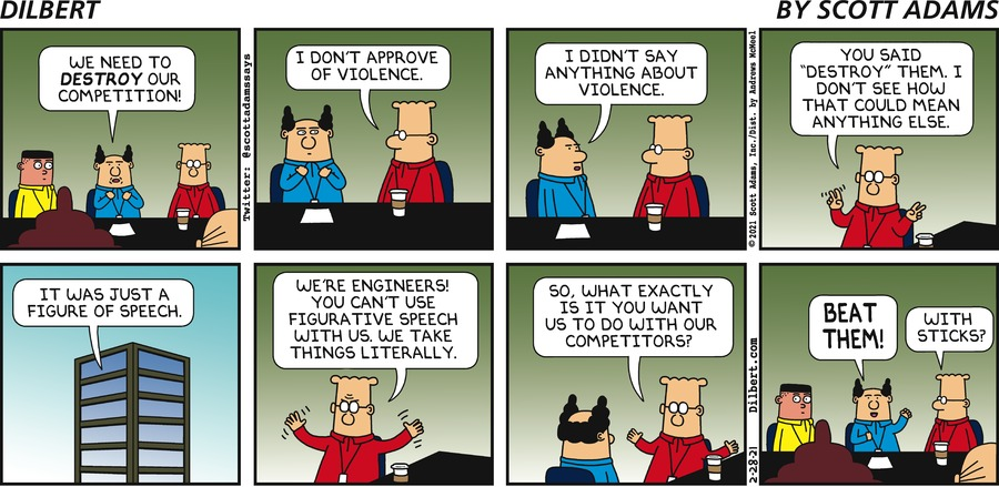Destroy The Competition - Dilbert by Scott Adams