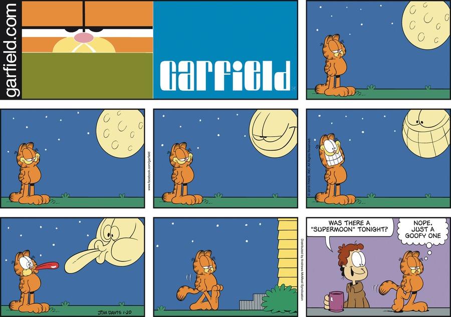 Garfield Comic Strip for January 20, 2019