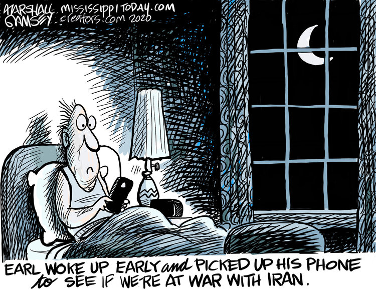 Marshall Ramsey Comic Strip for January 03, 2020