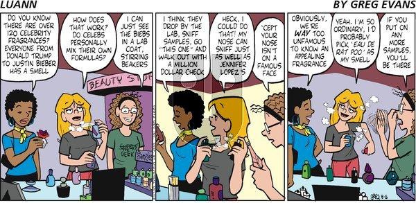Luann on Sunday August 5, 2012 Comic Strip