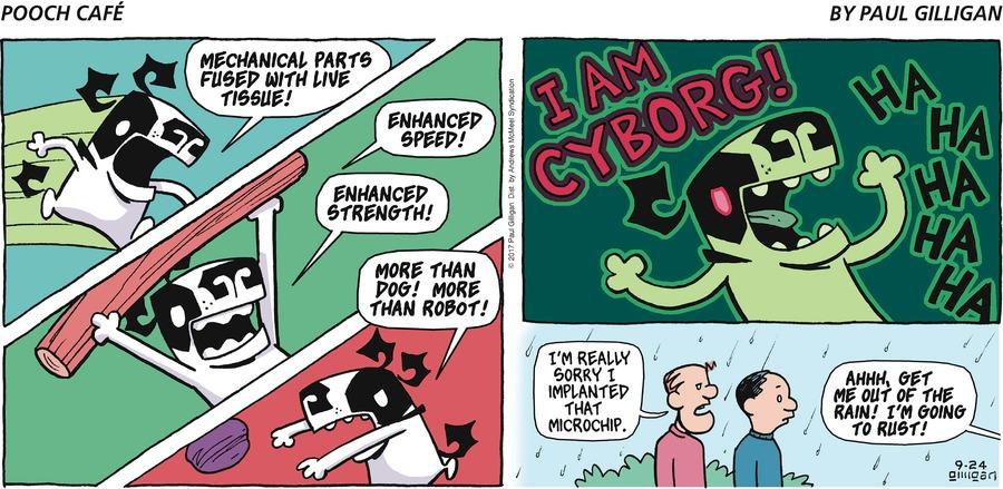 Pooch Cafe for Sep 24, 2017 Comic Strip