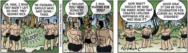 Alley Oop - Saturday January 25, 2020 Comic Strip