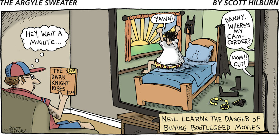 The Argyle Sweater for Jun 3, 2012 Comic Strip