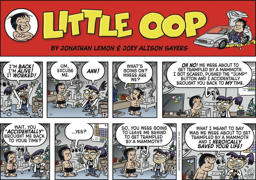 Alley Oop Comic Strip for March 01, 2020