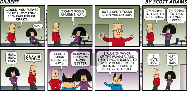 Dilbert on Sunday August 18, 2019 Comic Strip