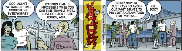 Alley Oop on Monday March 4, 2019 Comic Strip