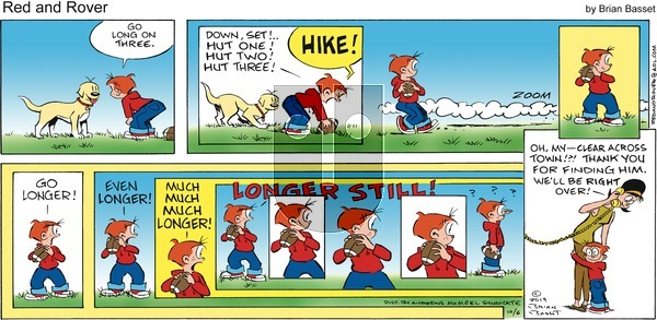 Red and Rover - Sunday October 6, 2019 Comic Strip