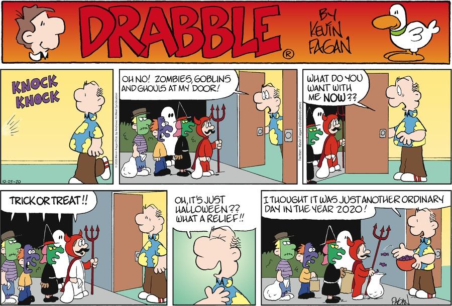 Drabble Comic Strip for October 25, 2020