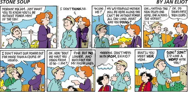 Stone Soup on Sunday October 11, 2020 Comic Strip
