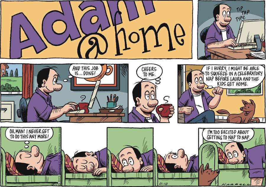 Adam@Home for Nov 10, 2013 Comic Strip