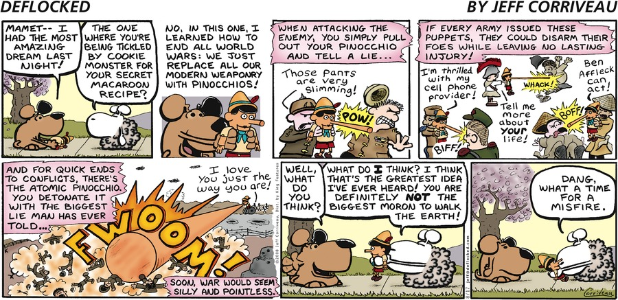 DeFlocked Comic Strip for August 17, 2008