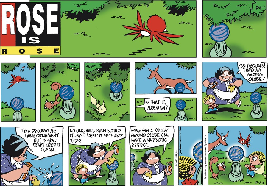Rose is Rose Comic Strip for August 23, 2020