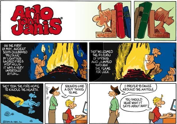 Arlo and Janis on Sunday May 1, 2005 Comic Strip