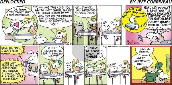 DeFlocked on Sunday February 10, 2013 Comic Strip